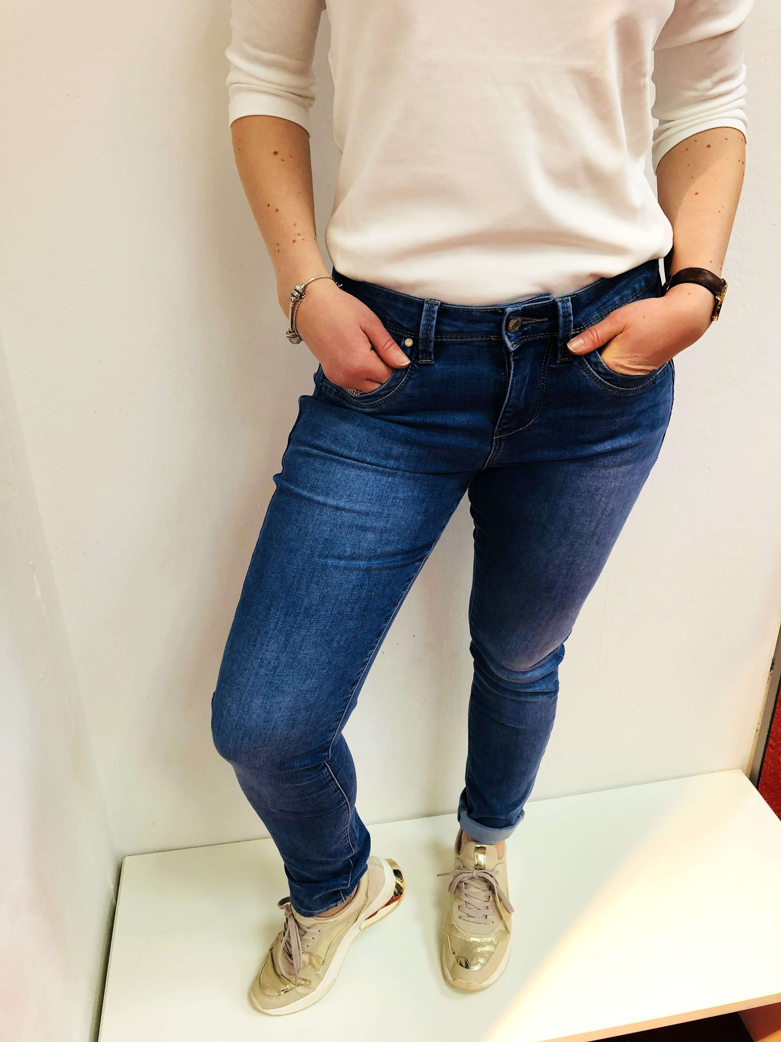 Red Button Jeans Jimmy Mid stone used