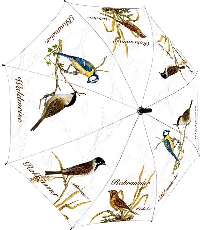 Rannenberg Regenschirm 'Naumann Vögel'