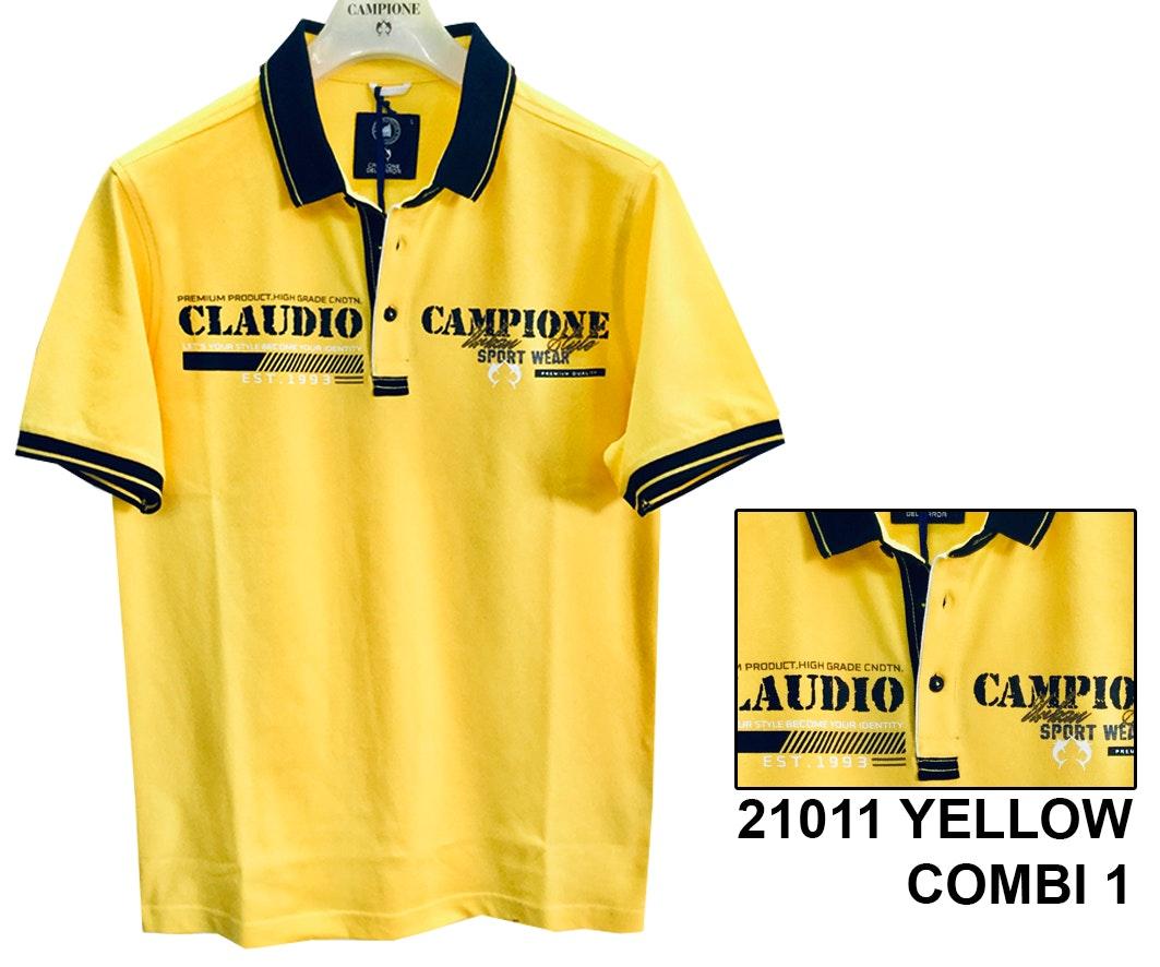 Claudio Campione Herren Poloshirt Domenik