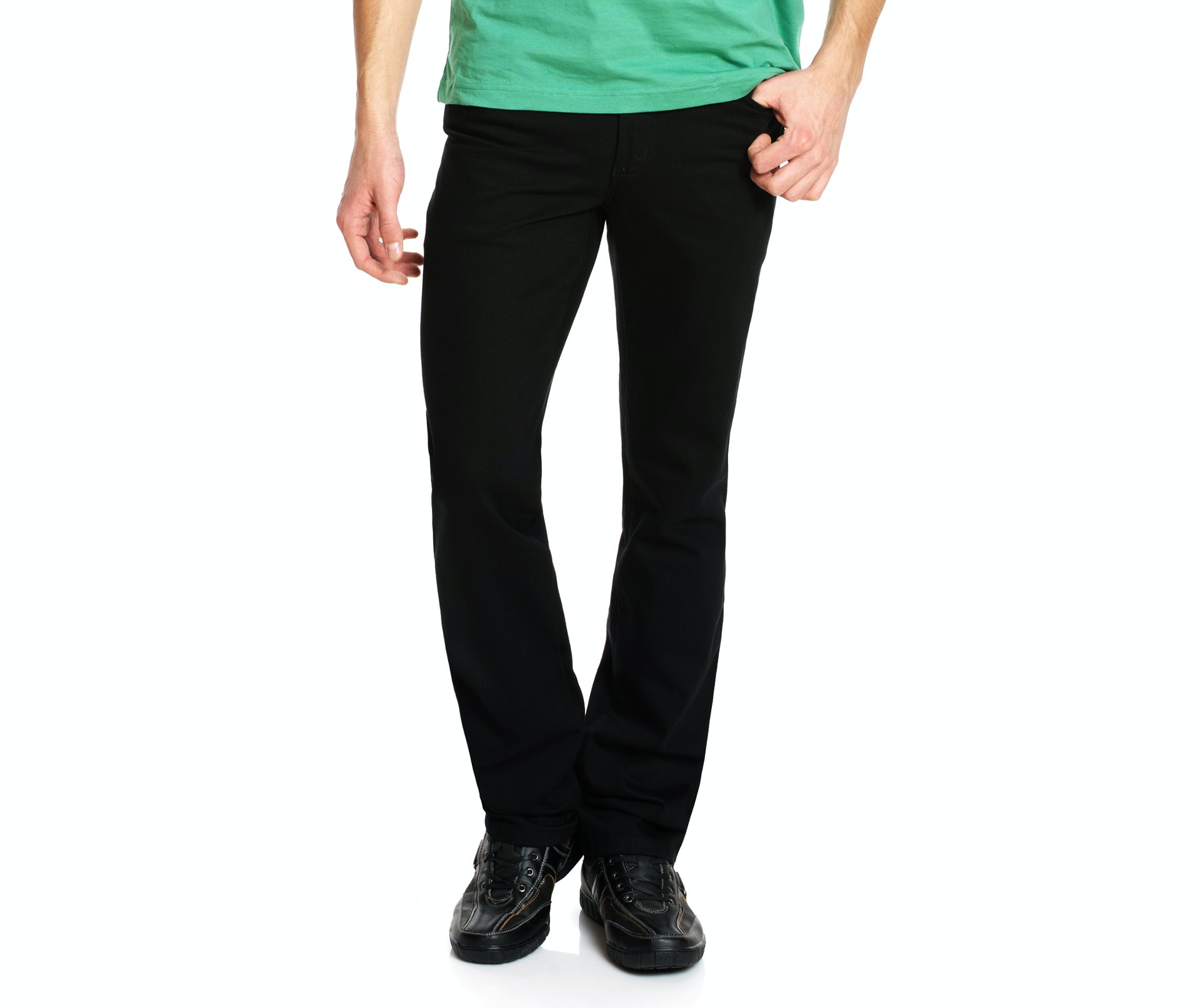 Revils Jeans 302 black Stretch extra lang