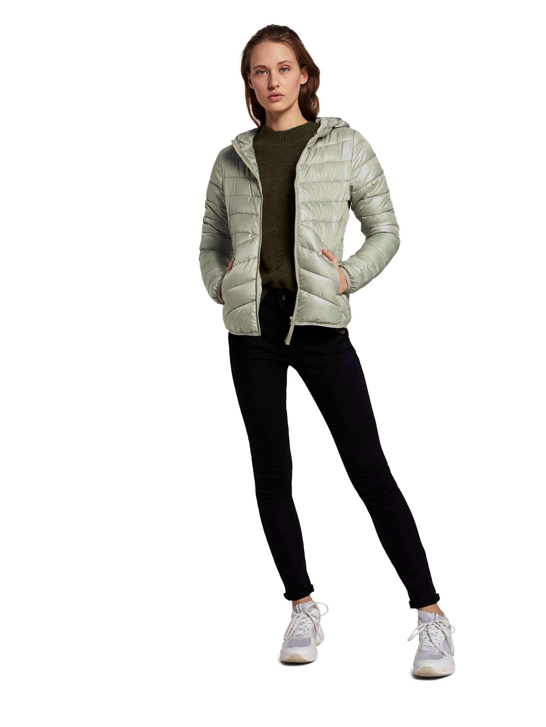 Tom Tailor Denim Jacke Light Puffer khaki