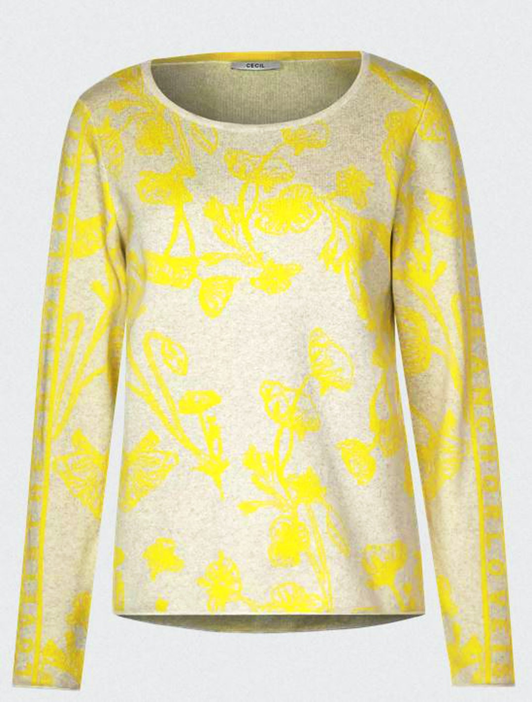 Cecil Pullover Flower