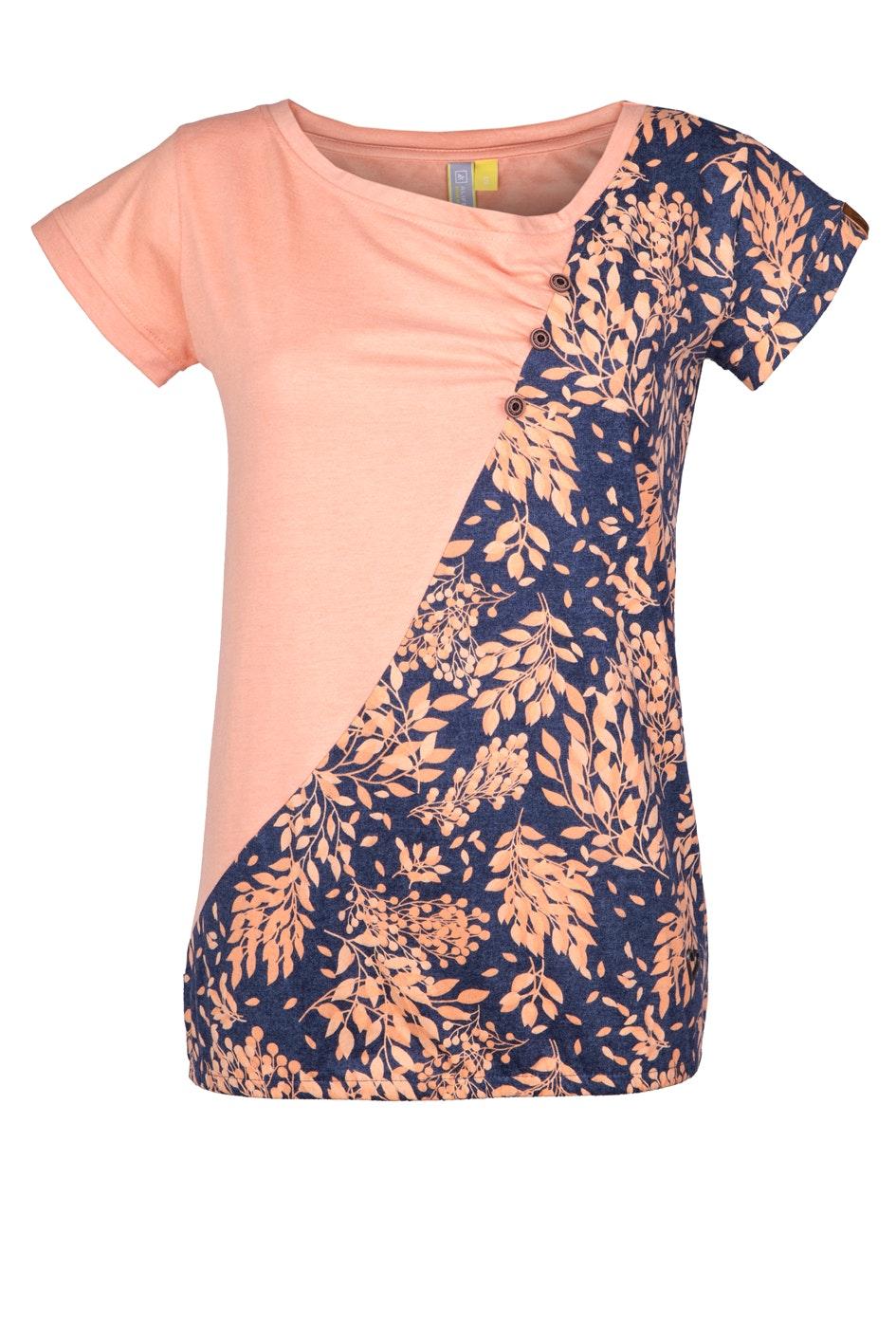 alife and kickin Shirt Zoe peach