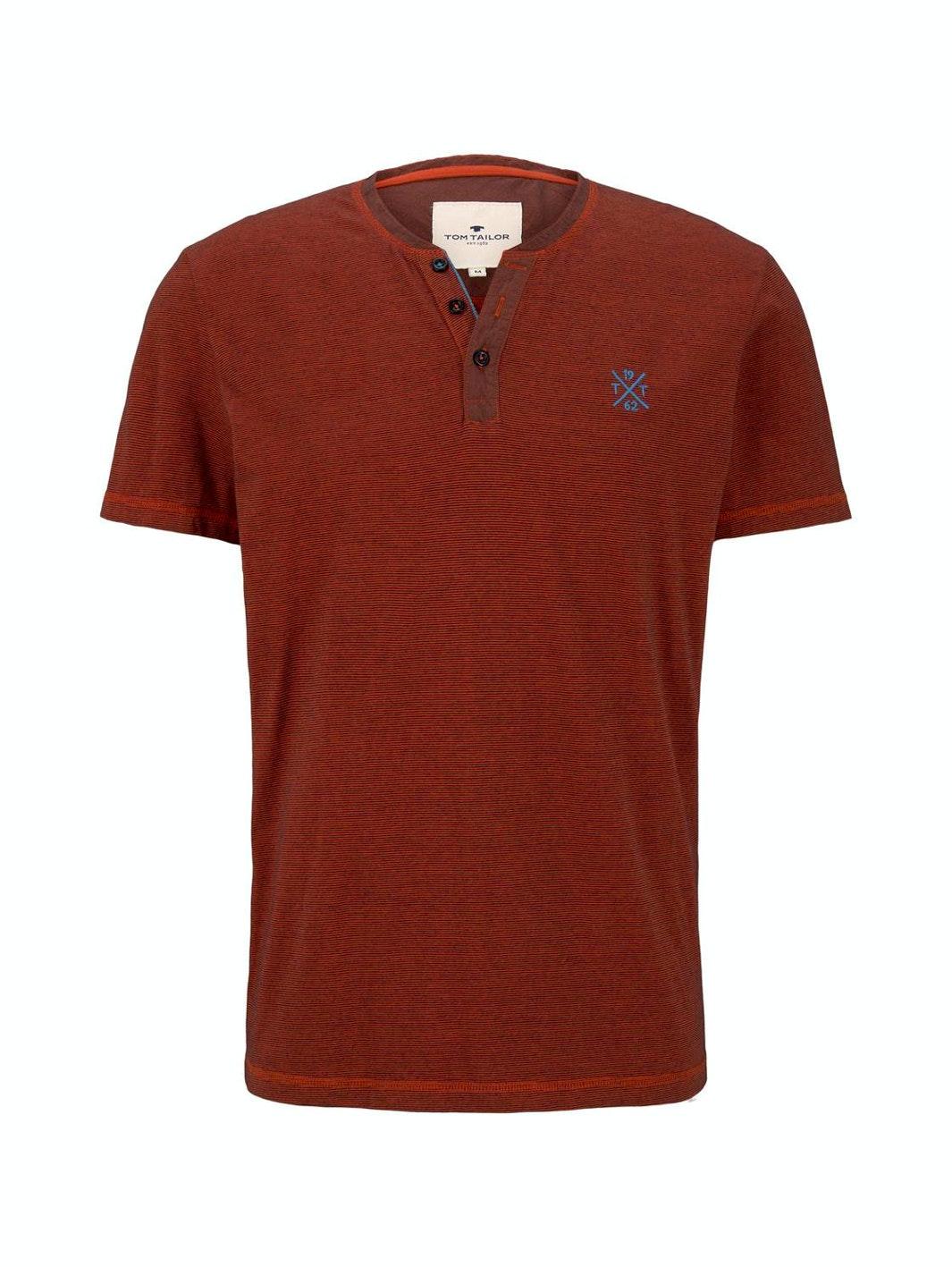 Tom Tailor Serafino Shirt mit Streifen
