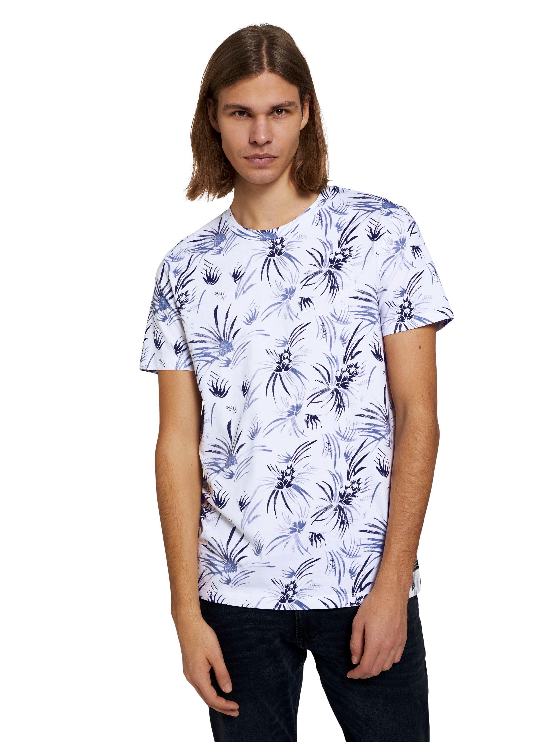 Tom Tailor Denim T-shirt alloverprinted