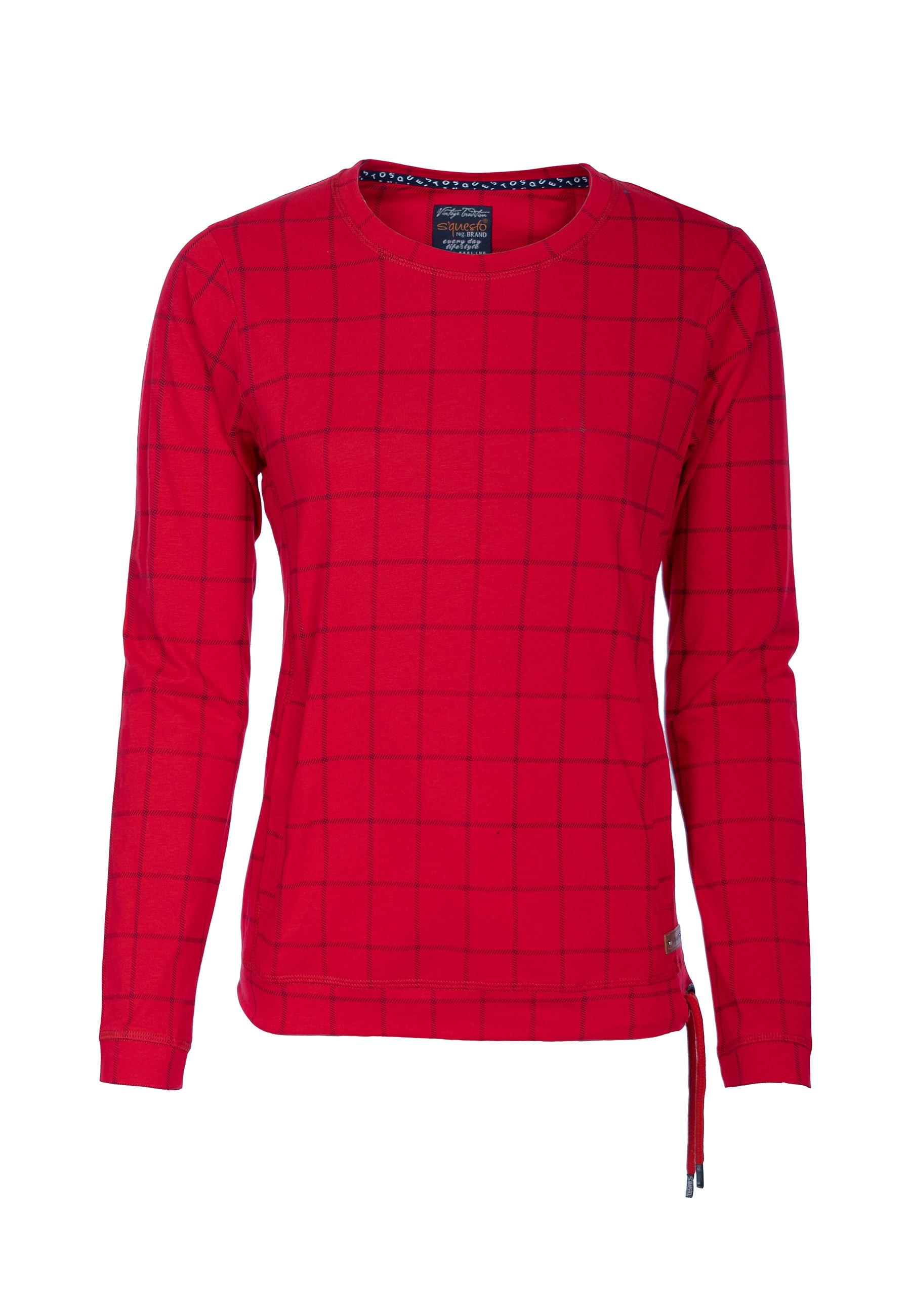 Soquesto Sweatshirt Laiska candy red