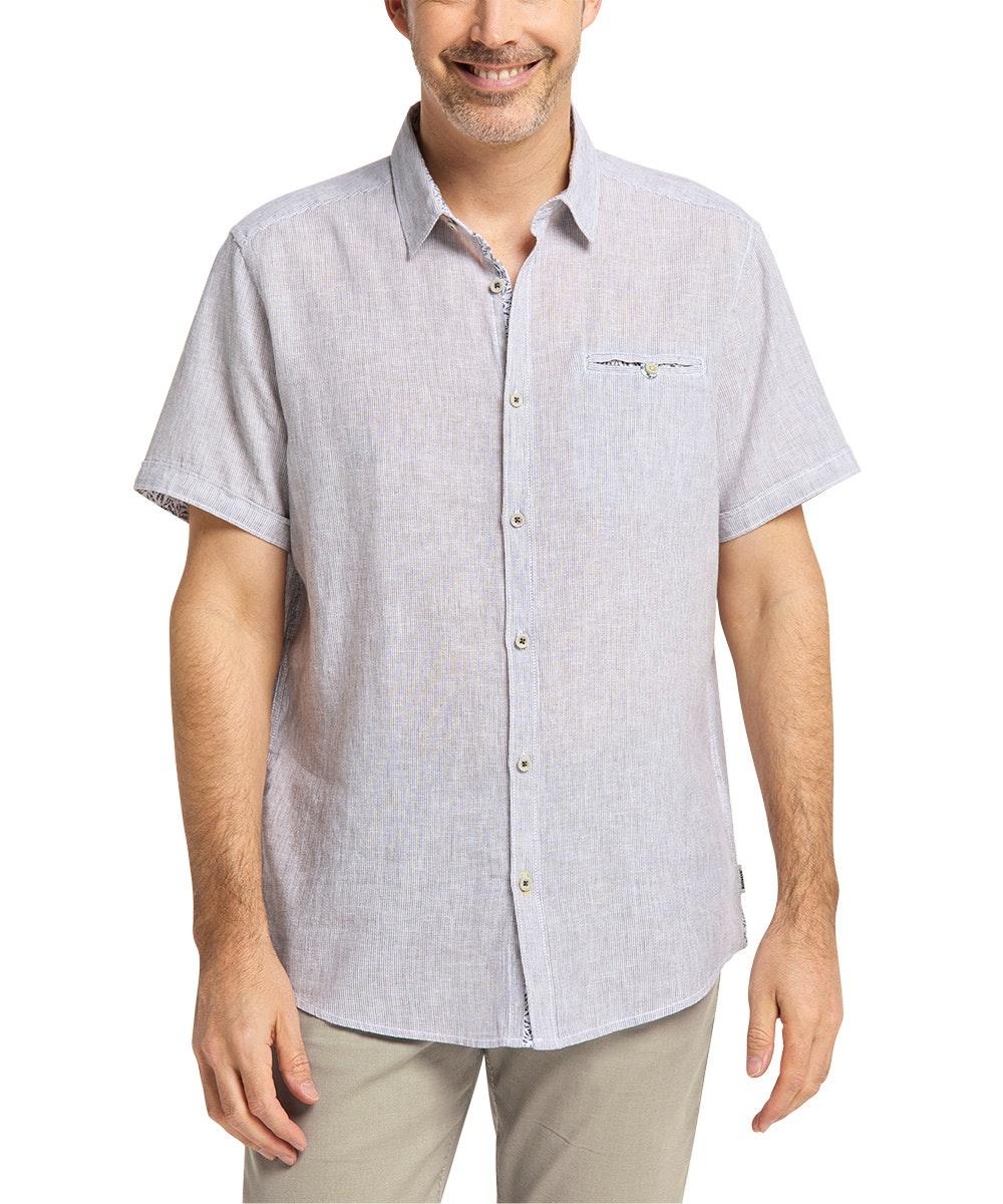 Pioneer Hemd Grey Stripe