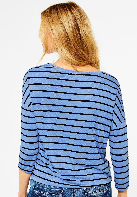 Cecil Shirt Striped Knot Shape