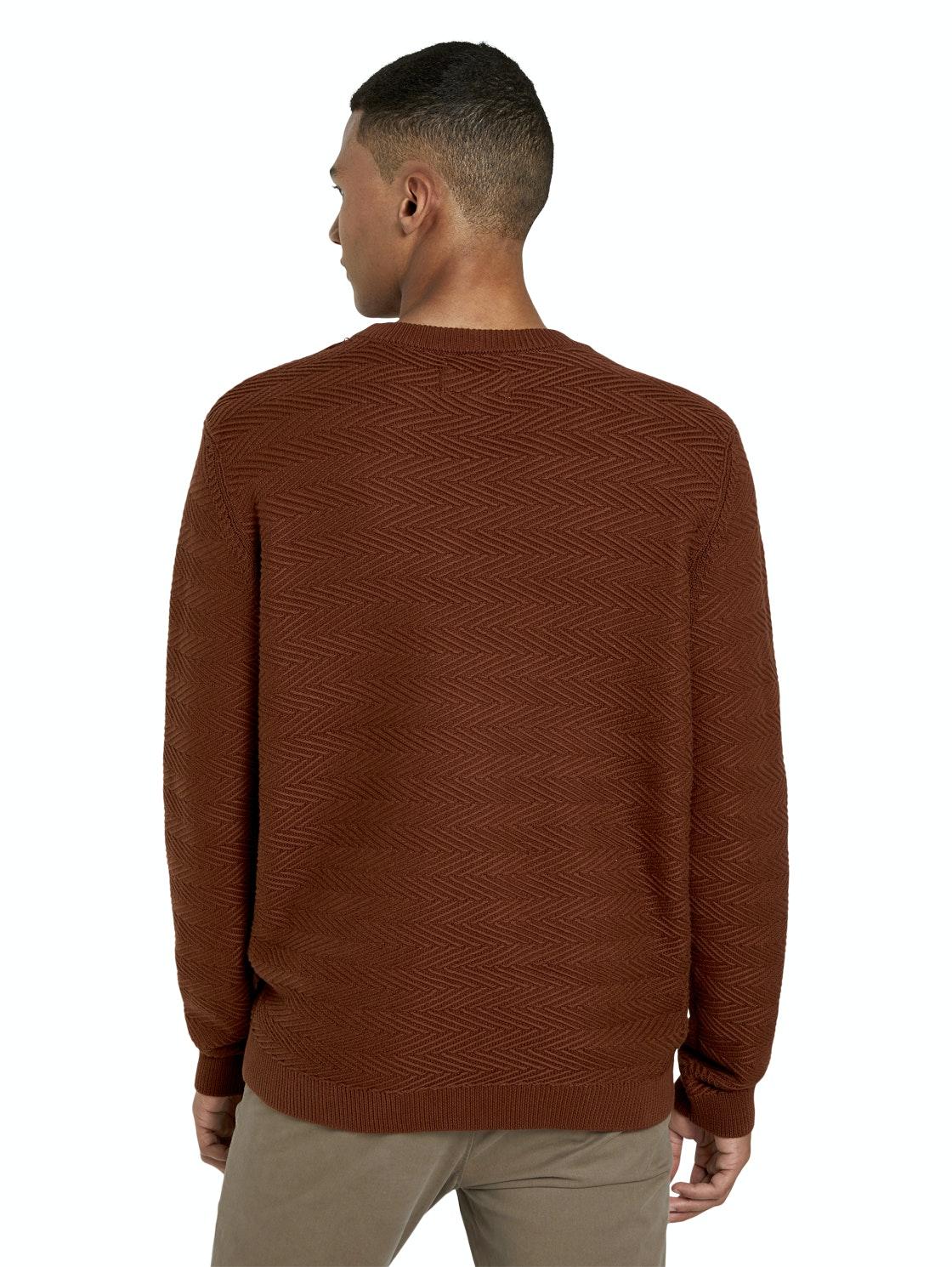 Tom Tailor Pullover Zig Zag