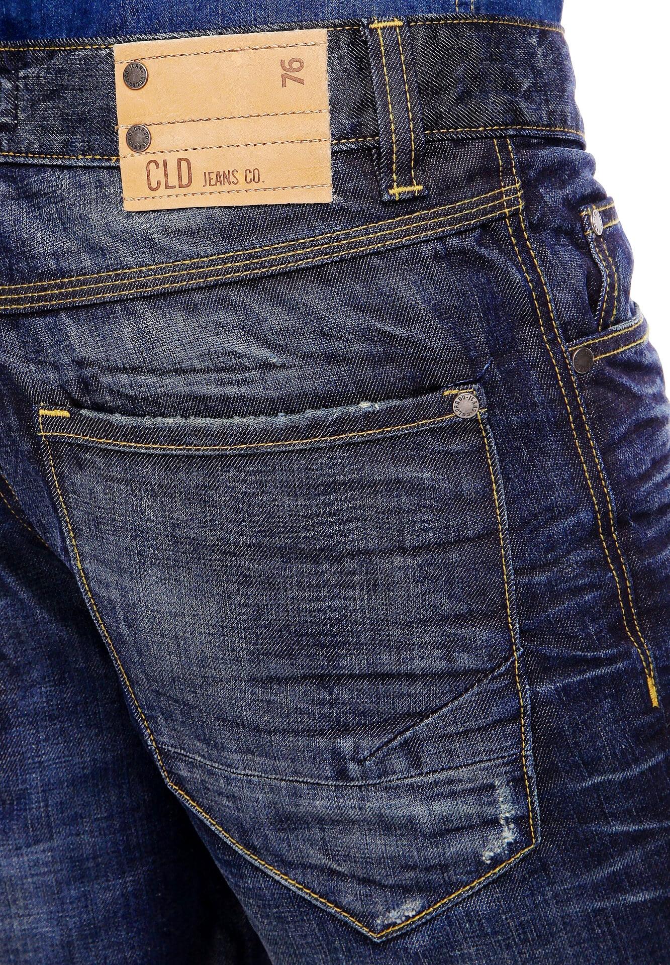 Colorado Jeans Straight Fit Gesäßtasche