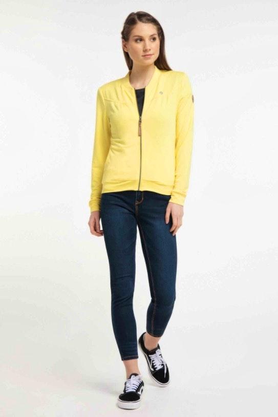 Ragwear Sweatjacke Kenia gelb