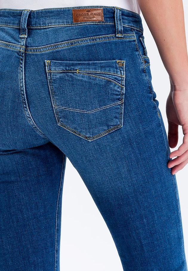 Cross Jeans Lauren mid blue used