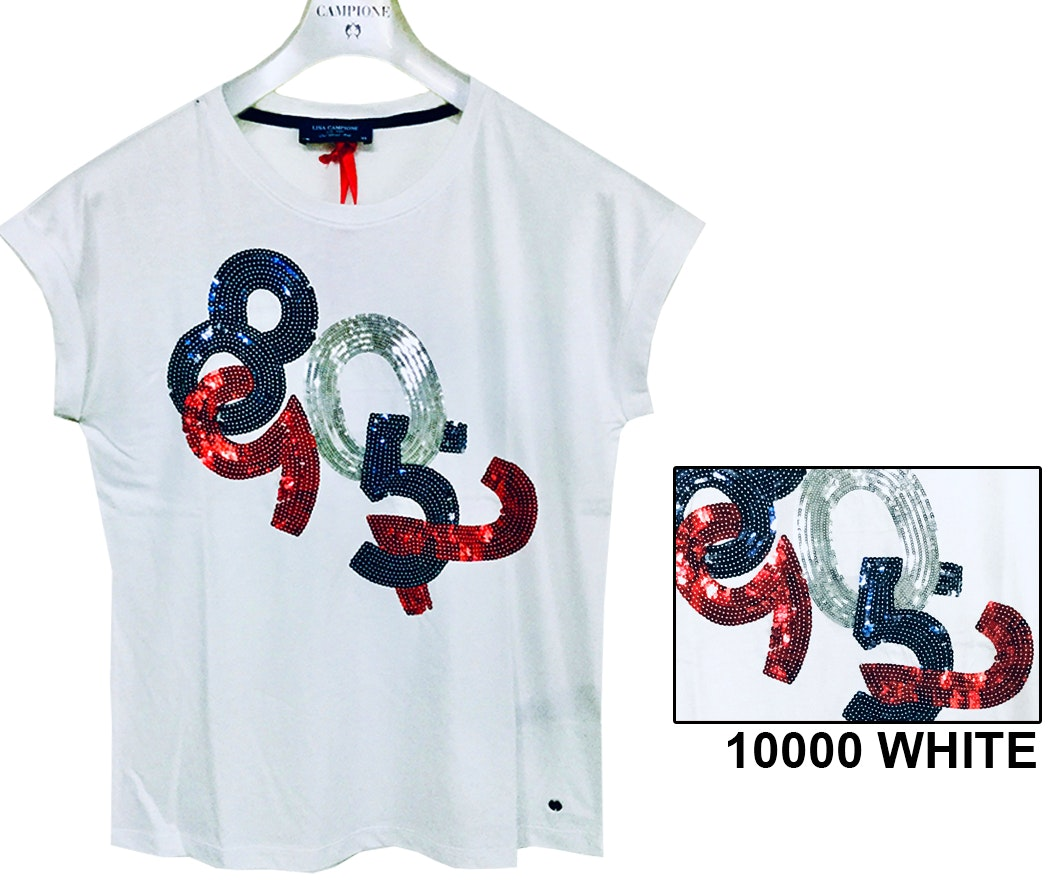Lisa Campione Shirt Navy Sports