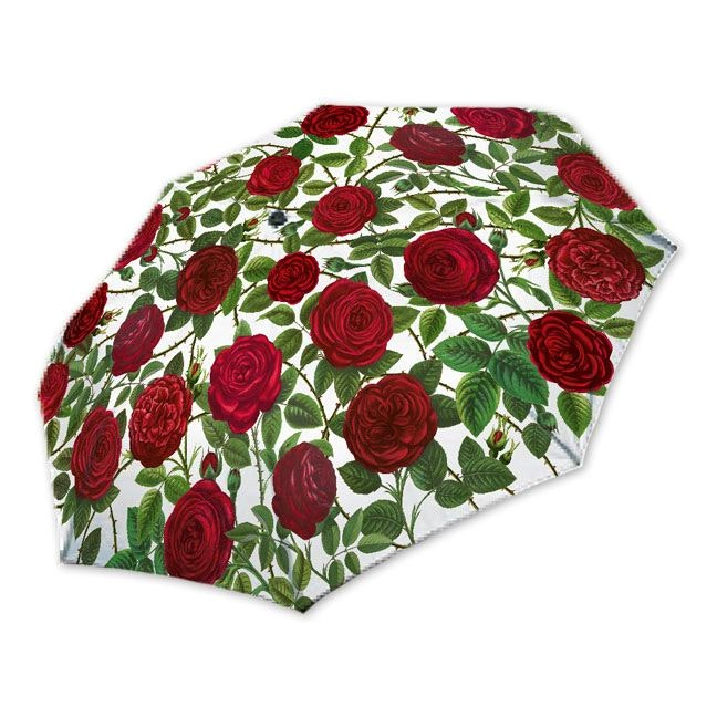"""Rannenberg Taschenschirm """"Rote Rosen"""""""