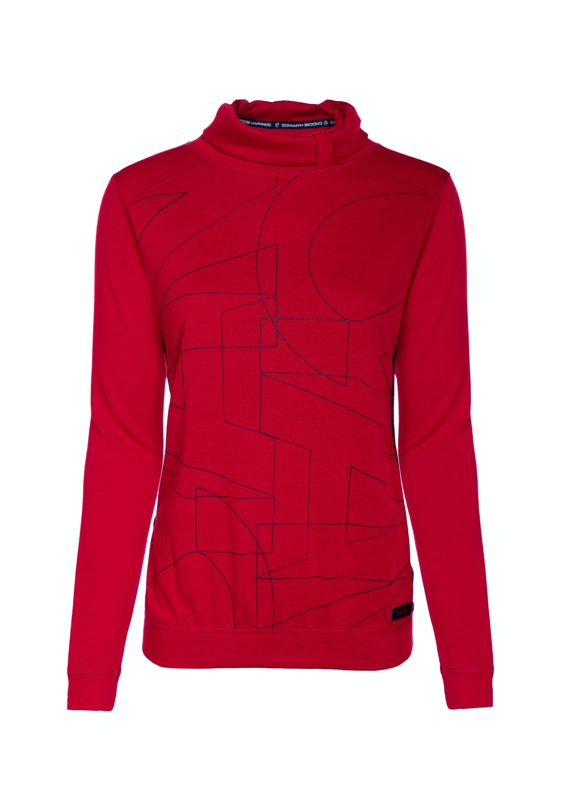 Soquesto Strickpullover Laira candy red
