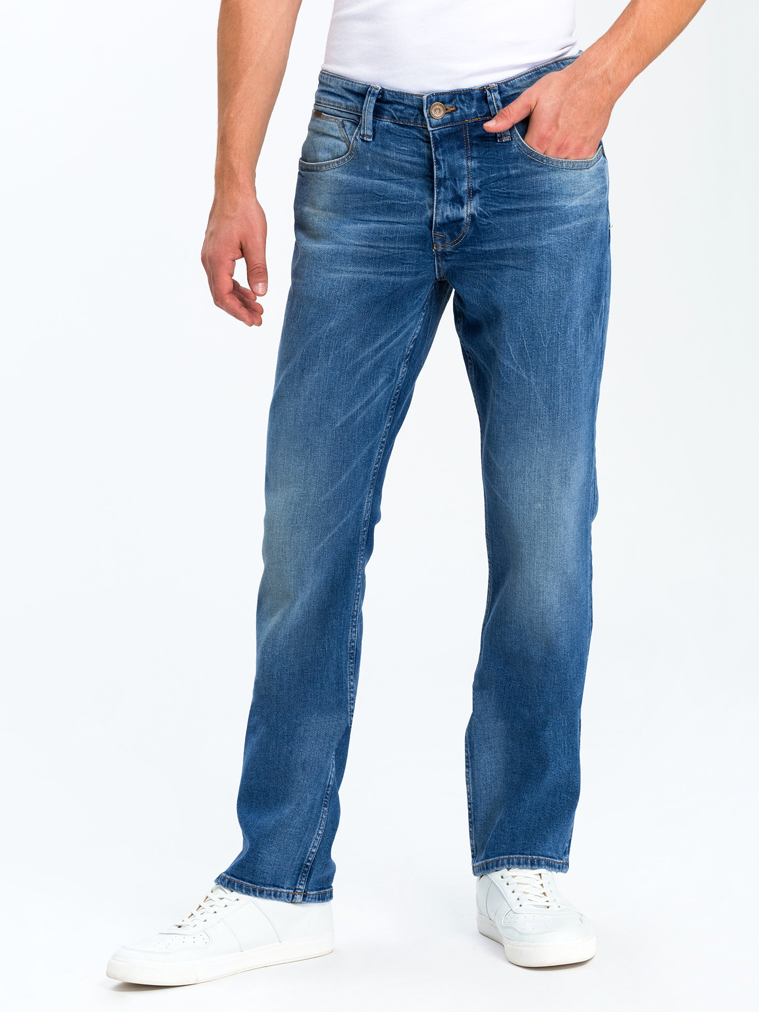Cross Jeans Dylan middle blue wash