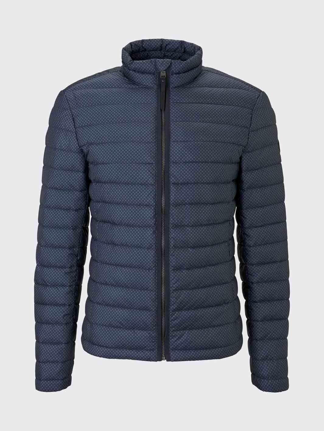 Tom Tailor leichte Jacke mit Stehkragen dark blue