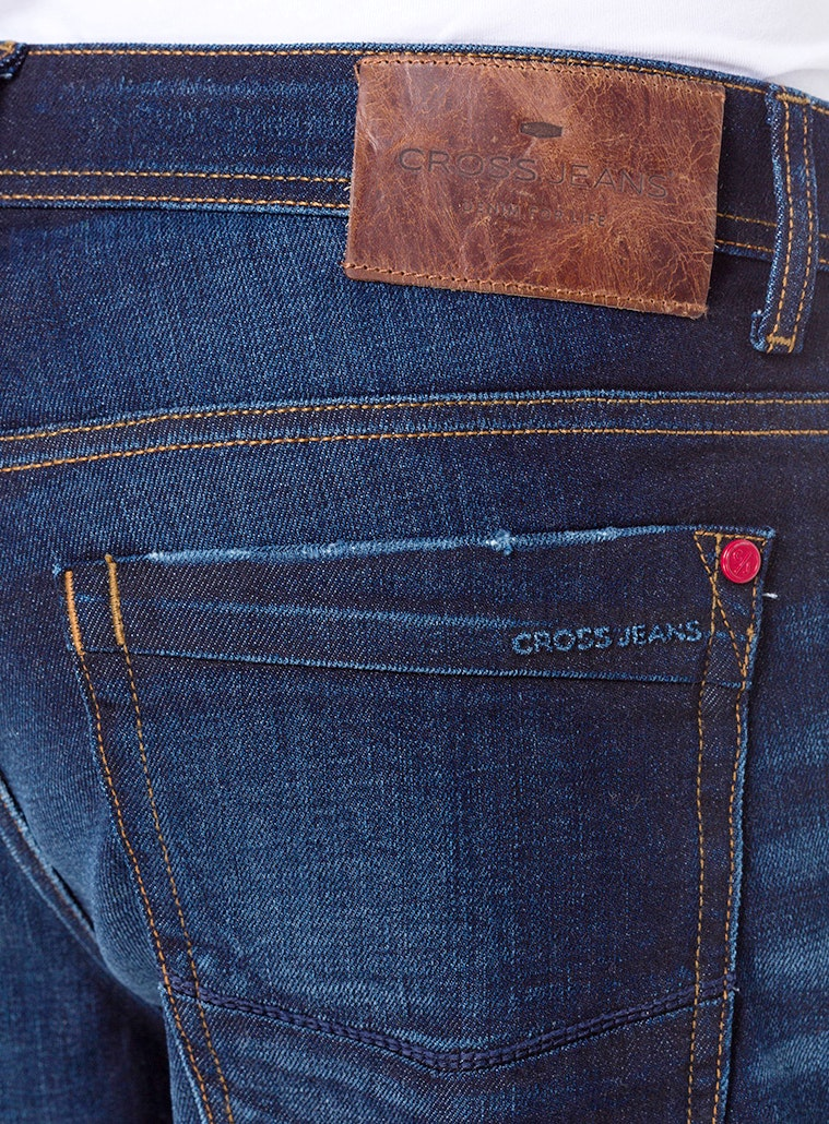 Cross Jeans Antonio Straight deep blue