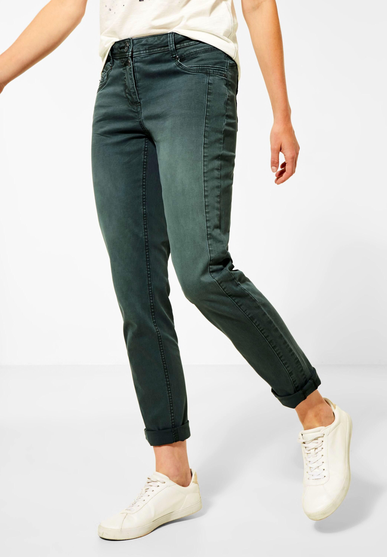 Cecil Jeans Gesa Slim green