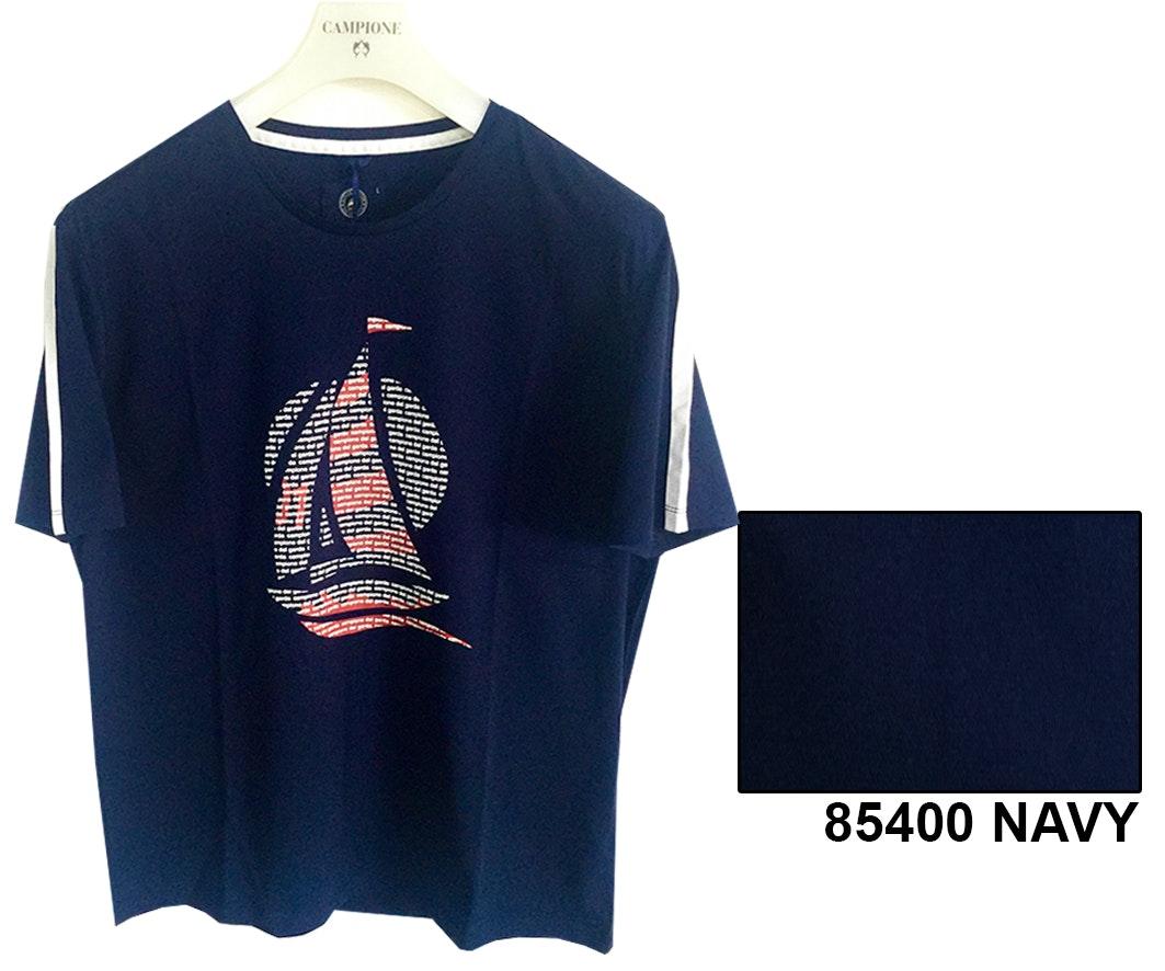Claudio Campione T-Shirt Yachting