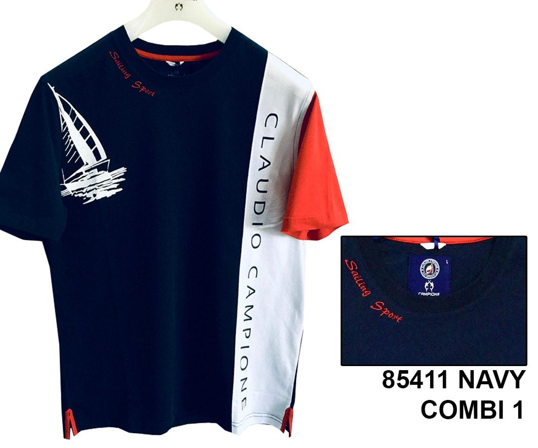 Claudio Campione T-Shirt Yachting Davis