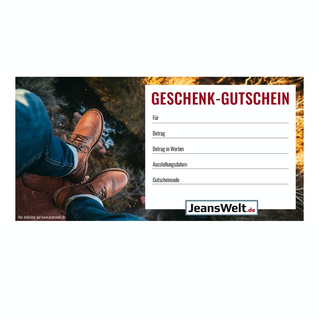 Geschenkgutschein Jeanswelt.de