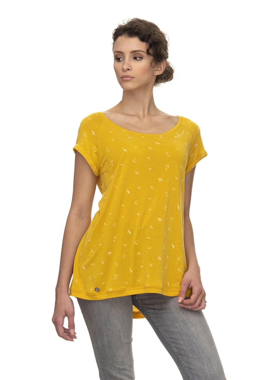 Ragwear Shirt Zilda Organic yellow