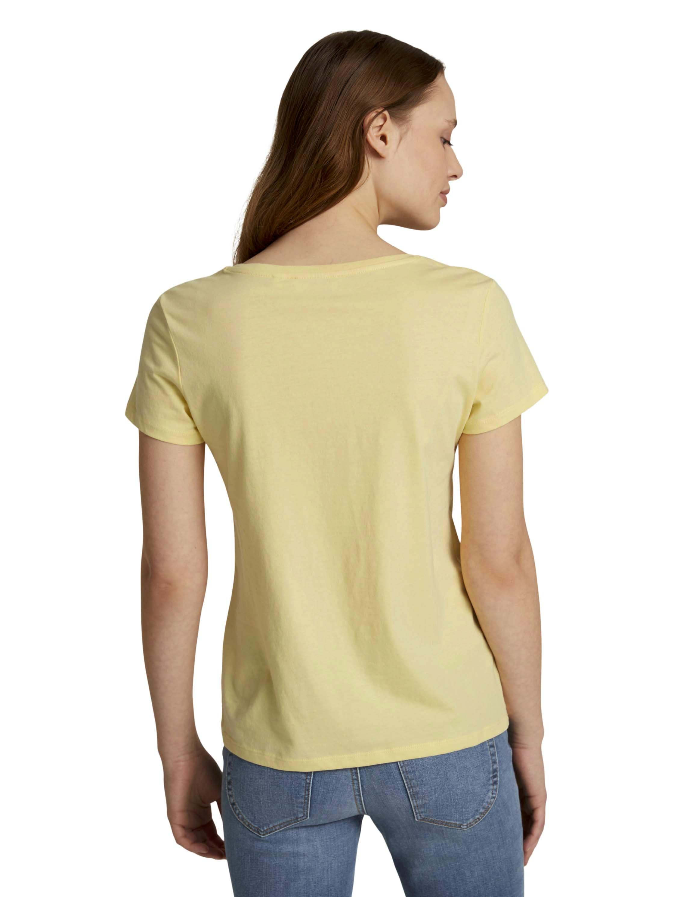 Tom Tailor Denim Shirt Basic Print Tee