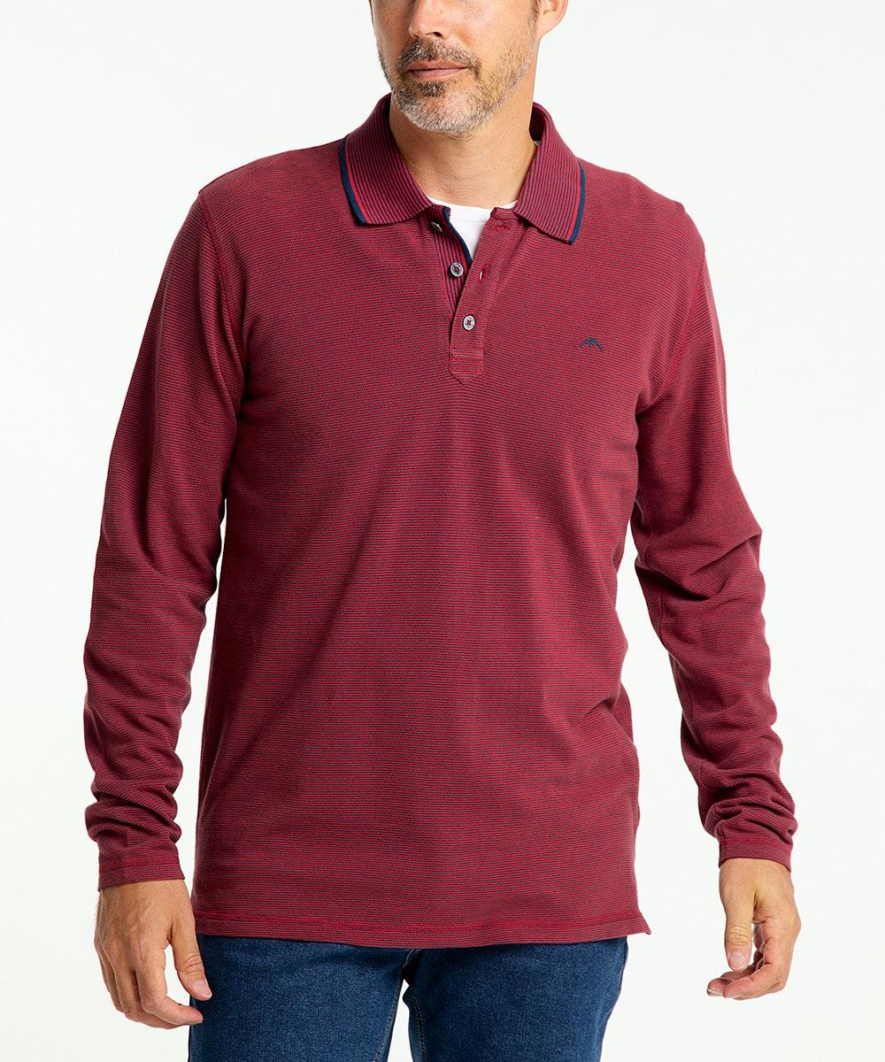 Pioneer Langarm-Poloshirt Marcus